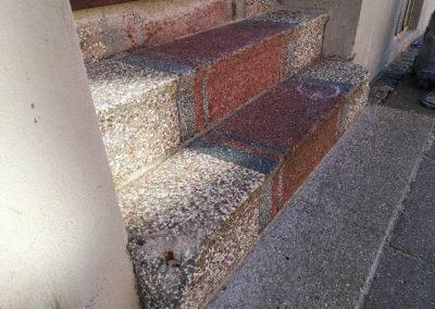 terrazzo, marmor, stengulv, marmorsplit, klinker, betongulv, plejeprodukter, travertin, terrazzo, butiksgulv, gulvslibning, afslibning